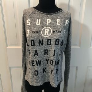 Superdry London Paris Tokyo Sweatshirt Small